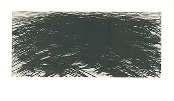 Max Uhlig: Landschaft in schwarz