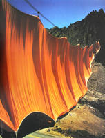 Christo: Valley Curtain, Rifle, Colorado 1970-72