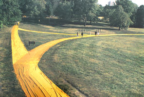 Christo: Wrapped Walk Ways, Loose Park, Kansas City Missouri 1977-78
