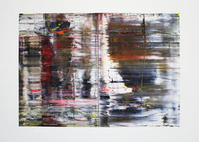 Gerhard Richter: Abstraktes Gemälde 726