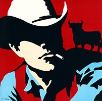 Antonio de Felipe: Cowboy - red