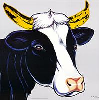 Antonio de Felipe: Banana-Cow - grey