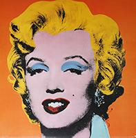 Andy Warhol: Orange Marilyn
