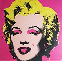 Andy Warhol: Marilyn - pink - GROSS