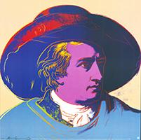 Andy Warhol: Goethe - GROSS
