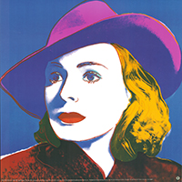 Andy Warhol: Ingrid Bergman - GROSS