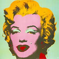 Andy Warhol: Marilyn - green