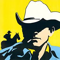 Antonio de Felipe: Cowboy - yellow