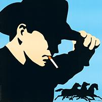 Antonio de Felipe: Cowboy - with cigarette