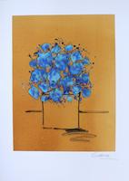 Wilhelm Schlote: Bouquet - bleue
