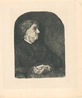 Hermann Struck: Alte Frau