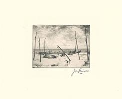 Josef Steiner: Fischerboote