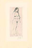 Josef Steiner: Weiblicher Akt