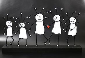Paul Kostabi: SPRKL Family Love