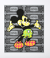 Ben Allen: Monster Mickey (Black)