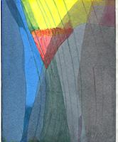 Willibrord Haas: Rotes und weißes Dreieck