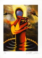 Mark Kostabi: Desire and the pool of faith