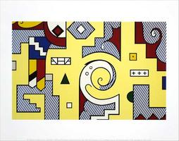 Roy Lichtenstein: Amerind Composition