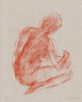 Claude Garache: Weiblicher Rückenakt