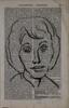 A.R. Penck: Frauenportrait