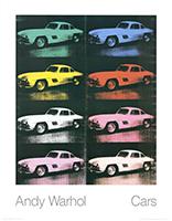 Andy Warhol: Mercedes-Benz 300SL Coupè