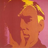 Andy Warhol: Self-Portrait - red