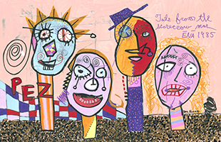 Paul Kostabi: Tales From The Scarecrow