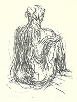 Max Uhlig: Rückenakt