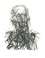 Max Uhlig: Bildnisstudie Dr. (unleserlich) I