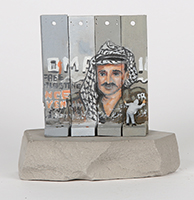 Banksy: Wall Section (Jassir Arafat)
