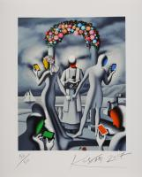 Mark Kostabi: Till text do us apart