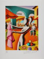 Mark Kostabi: For Alfredo or Salvatore