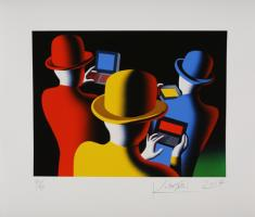 Mark Kostabi: The mad hatters