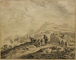 van Aken, Jan: Flusslandschaft
