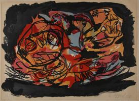 Karel Appel: Rouge