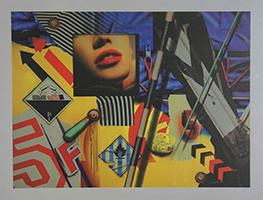 Peter Klasen: Corrosif/5F/Manette Verte