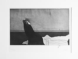 Paul Wunderlich: Frau im Sessel