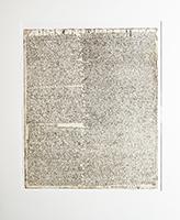 Horst Janssen: abgeschrieben in Krankheit  - aus:Nigromontanus