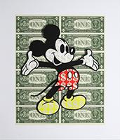 Ben Allen: Monster Mickey (Green)