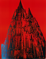 Andy Warhol: Cologne Cathedral (red)