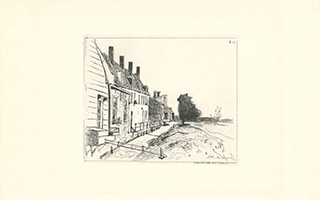 Johan-Barthold Jongkind: Le Maison au bord du canal