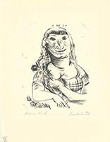Paul Kleinschmidt: Frauenportrait