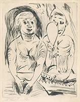 Paul Kleinschmidt: Zwei Frauen