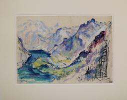 Friedrich Ludwig: Blaues Gebirge