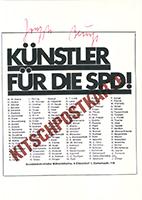 Joseph Beuys: Künstler für die SPD