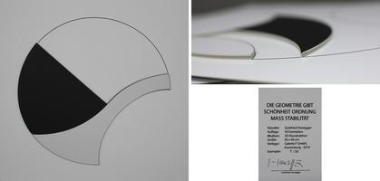 Gottfried Honegger: Die Geometrie gibt Schönheit, Ordnung, Mass, Stabilität