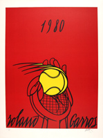 Valerio Adami: Roland Garros (rouge)