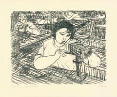 Max Uhlig: Frauen am Fließband
