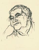 Max Uhlig: alte Frau