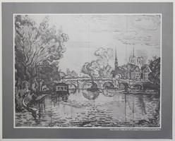 Paul Signac: River Scene